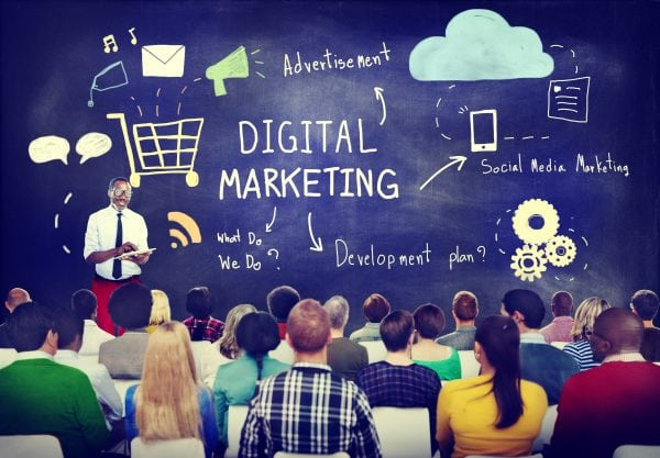 Digital Marketing – Blue 16 Corner